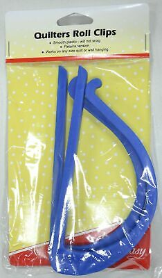 SEW EASY Quilters Roll Clips, Smooth Plastic, Retains Tension 165 x 80mm