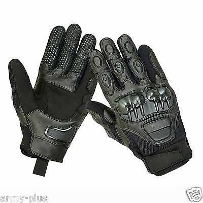 Tactical Hard Knuckle Combat Police Patrol Shooting Motorbike Driving Gloves