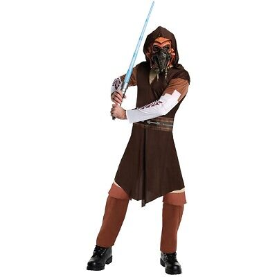 Plo Koon Costume Adult Star Wars The Clone Wars Jedi Knight Halloween