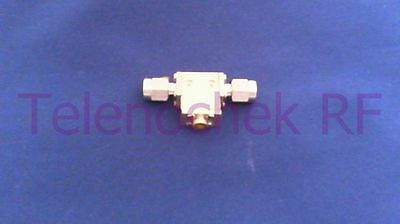 RF microwave single junction isolator 6450 MHz - 18 GHz / 5 Watt / data