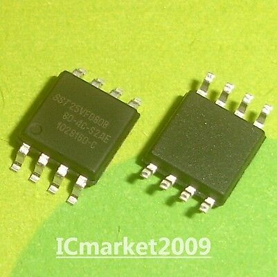 2 PCS SST25VF080B-80-4C-S2AF SOP-8 SST25VF080 25VF080 SPI Serial Flash NEW