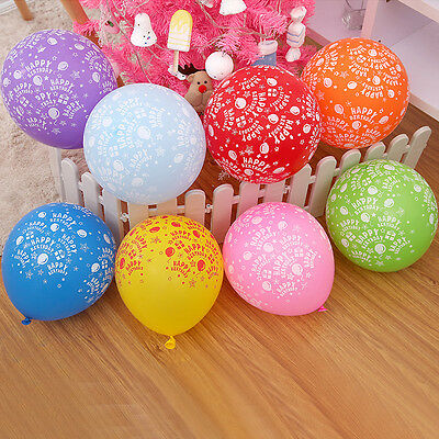 20 LARGE helium Quality Party Birthday Wedding Balloons baloons