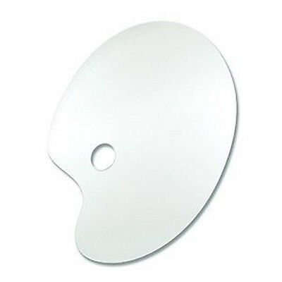 Reeves Artists Clear Perspex Palette - Kidney Shaped
