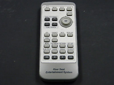 LEXUS  REAR DVD Entertainment Remote Control REAR SEAT OEM 86170-60030