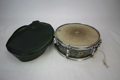 1965 60's Ludwig Snare Drum 5 1/4 x 14 6 lug Black Diamond sweet