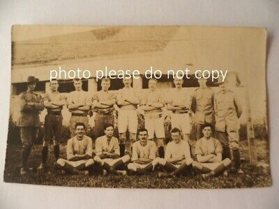 vintage war time photo postcard wartime photograph post card soldier group