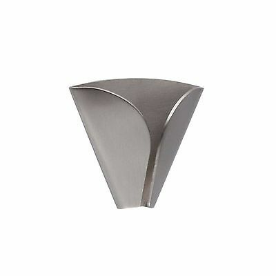 InterDesign Forma Self Adhesive,Towel Grabber,Brushed Stainless Steel 65480 NEW.