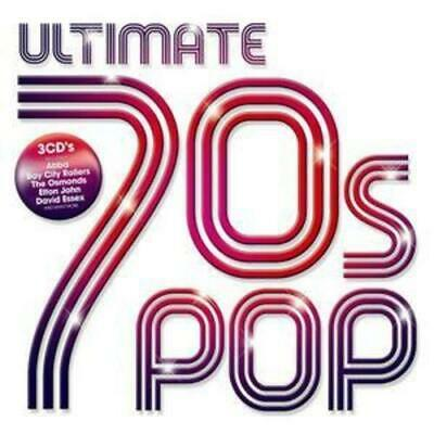 Various Artists : Ultimate 70s Pop CD 3 discs (2005) FREE Shipping, Save £s