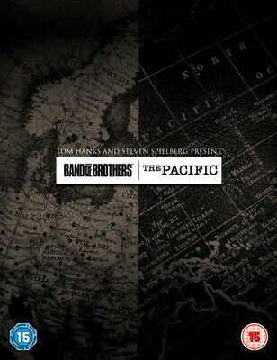 Band of Brothers/The Pacific DVD (2011) Donnie Wahlberg cert 15 12 discs