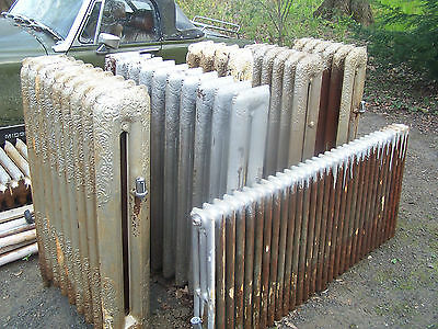 Vintage Steam Radiators Very Ornate 10 total. $80 each/best offer