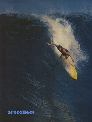 Vintage Surfing Image (1977): Bobby Owens, Backdoor (by Jeff Divine).
