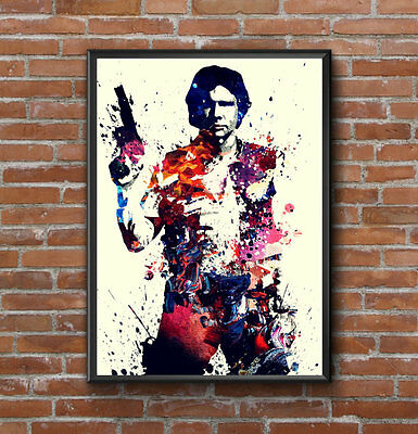 Han Solo Star Wars Large Wall Art Picture Poster Print Whole Poster A1