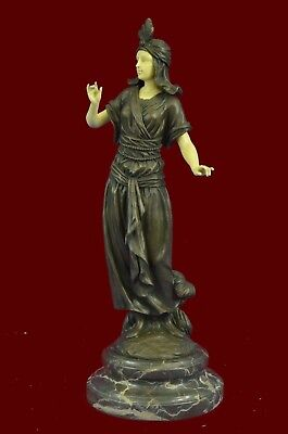 Bronze Sculpture Turkish Princess signed Carrier Classic Artwork Statue Figure