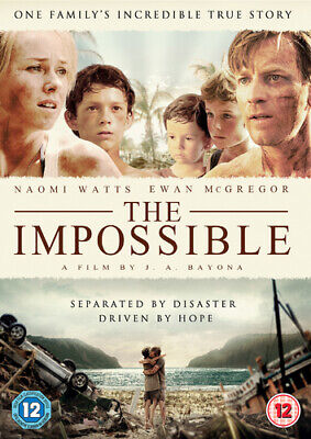 The Impossible DVD (2013) Ewan McGregor, Bayona (DIR) cert 12 Quality guaranteed