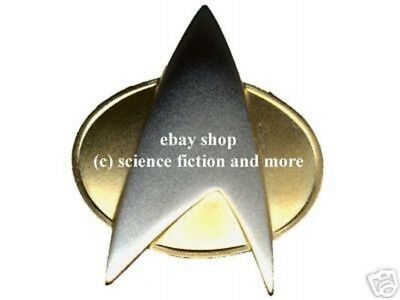 STAR TREK  Communicator - pin (matt) Metall + Sound - Rar ovp