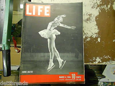 LIFE MAGAZINE - 3/4/1946 - Gretchen Merrill/ Palm Beach/Vienna/Truman's Men