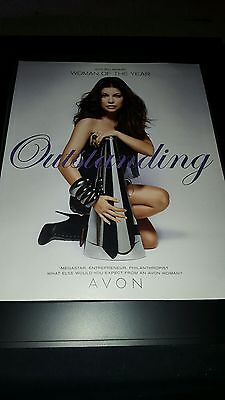 Fergie 2010 Billboard Avon Woman Of The Year Rare Original Promo Poster Ad Frame