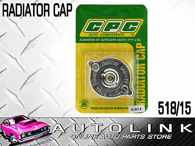 Cpc Radiator Cap Suit Holden Hq Hj Hx Hz - 6Cyl & V8 Models ( 15Psi , 100Kpa )