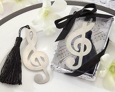 2016 NEW Music Note Alloy Bookmark Novelty Ducument Book Marker Label Stationery