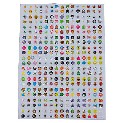 New 300Pcs home button sticker for iPhone 4 4S 5 iPad DW