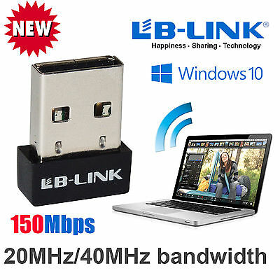 150Mbps Mini USB WiFi Dongle 802.11 B/G/N Wireless Network Adapter for PC Laptop