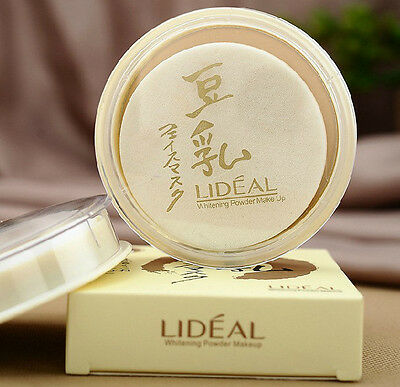 Pressed Powder Whitening Blemish Coverage Foundation Face Makeup Light / Natural