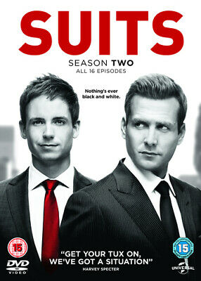 Suits: Season Two DVD (2013) Gabriel Macht cert 15 4 discs Fast and FREE P & P