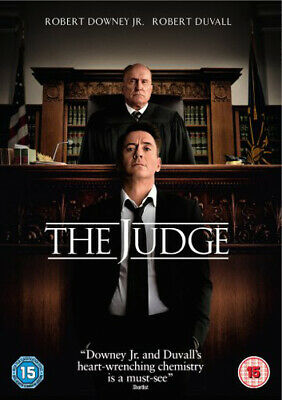 The Judge DVD (2015) Robert Downey Jr, Dobkin (DIR) cert 15 Fast and FREE P & P