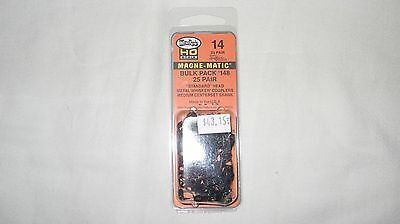 Kadee 14 HO Scale #148 Bulk Pack Metal Couplers 25-pair New in Package