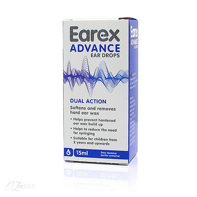 Earex Advance Ear Drops 15ml