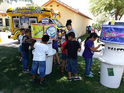 REDUCED! Snowie Shaved Ice Bus! (Astro) RARE! Food Truck