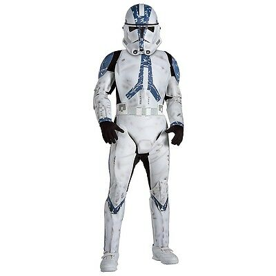 Clone Trooper Costume Kids Star Wars Stormtrooper Halloween Fancy Dress
