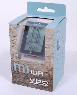 VDO M1 Wired Bicycle Computer, 5 Functions