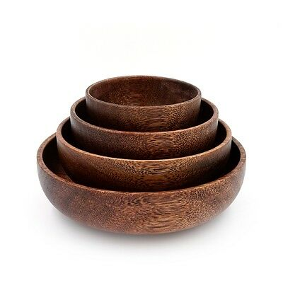 African Sapele wooden bowl,Japanese salad Creative chinese hand,bailer,Rice wood