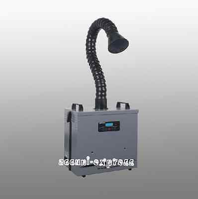 Soldering Smoke Absorber Fume Extractor Air Cleaner Filter X1001 CE Single Head