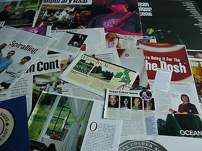 Ocean Colour Scene - Magazine Cuttings Collection (Ref R6)