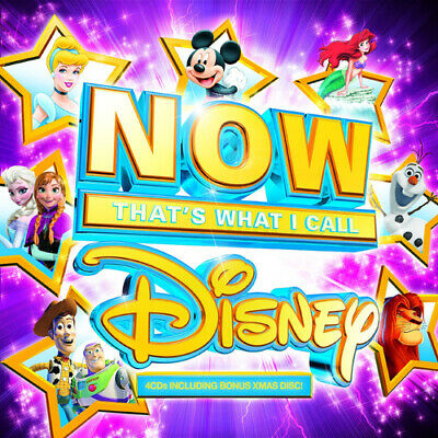 Various Artists : Now That's What I Call Disney CD Box Set 4 discs (2014)