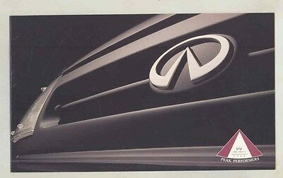 1992 Infiniti Peak Performers Salesman's Contest Brochure my5660