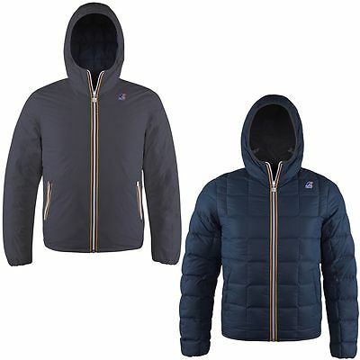 K-WAY JACQUES THERMO PLUS DOUBLE Antracite-Navy 360 € KWAY WINTER 2016 K001K40