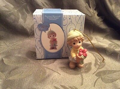 Precious Moments Daughter, Your Beauty Radiates From Within 910027 Ornament, NEW