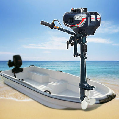 UK 3.5HP 2-Stroke Outboard Motor Fishing Boat Sail Boats Engine WITH CDI System