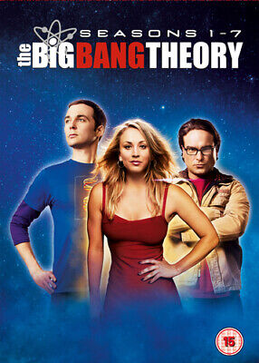 The Big Bang Theory: Seasons 1-7 DVD (2014) Johnny Galecki