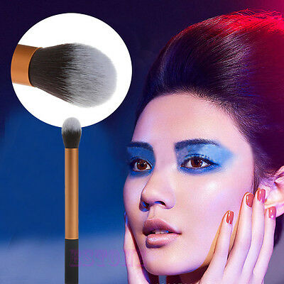 Women Pro Makeup Soft Contour Face Powder Foundation Cosmetic Blush Brush Tool