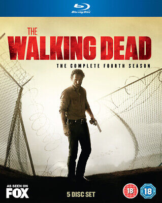 The Walking Dead: The Complete Fourth Season Blu-ray (2014) Andrew Lincoln