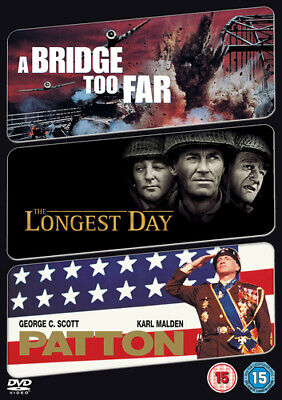 The Longest Day/A Bridge Too Far/Patton DVD (2009) John Wayne