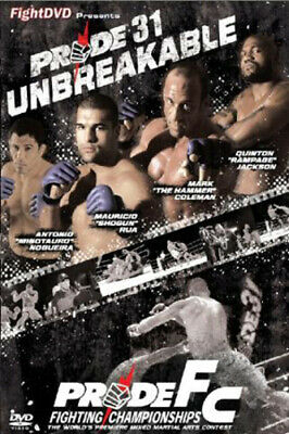 Pride: 31 - Unbreakable DVD (2009) Alistair Overeem