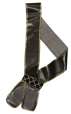 Leather Effect Sword Sash Pirate Fancy Dress Costume Accessory Free UK P&P