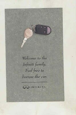 1994 Infiniti Service Loan Car Program Small Brochure my5668