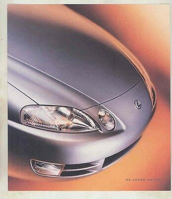 1995 Lexus SC300 SC400 Coupe Brochure my5688
