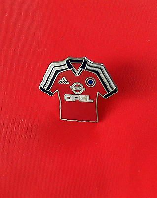 FCB Bayern München Trikot Pin 2001//2002 Home Badge Kit Opel altes BL Logo